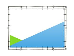 konstrukcja baner sciana